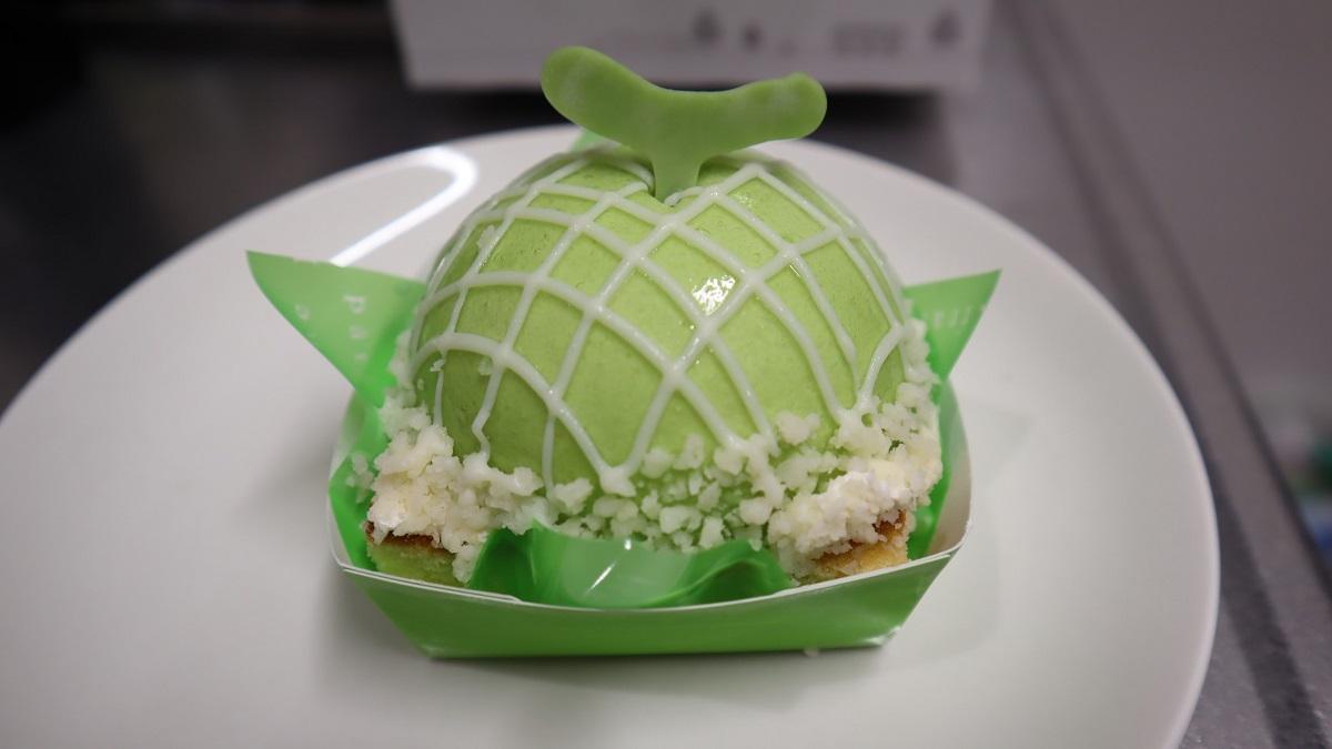 メロンの形がかわいいシャトレーゼの「まんまるメロンケーキ」レビュー