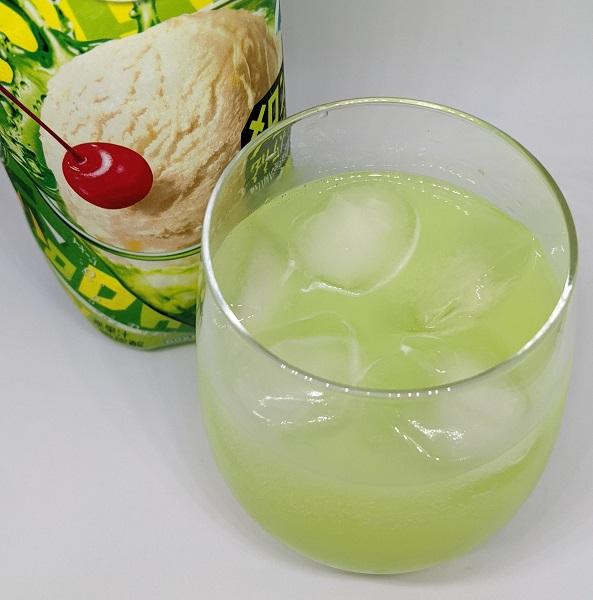 がぶ飲みクリームソーダ3