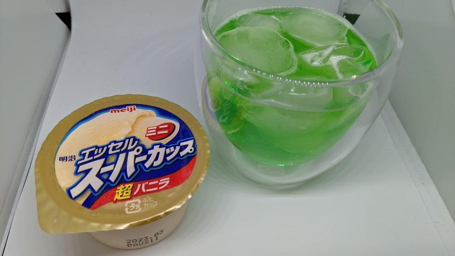 失敗しないメロンクリームソーダの作り方1