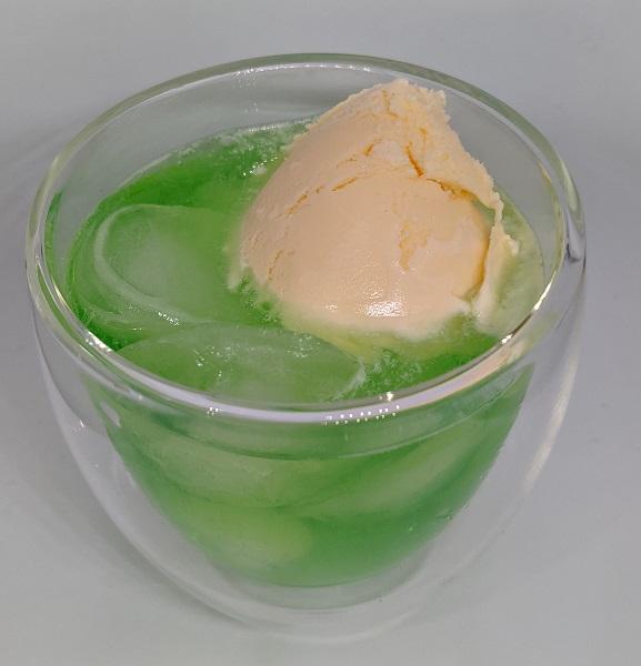 失敗しないメロンクリームソーダの作り方3