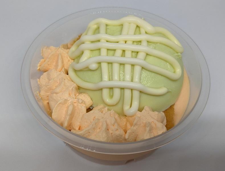 北海道メロンのふんわりケーキ3
