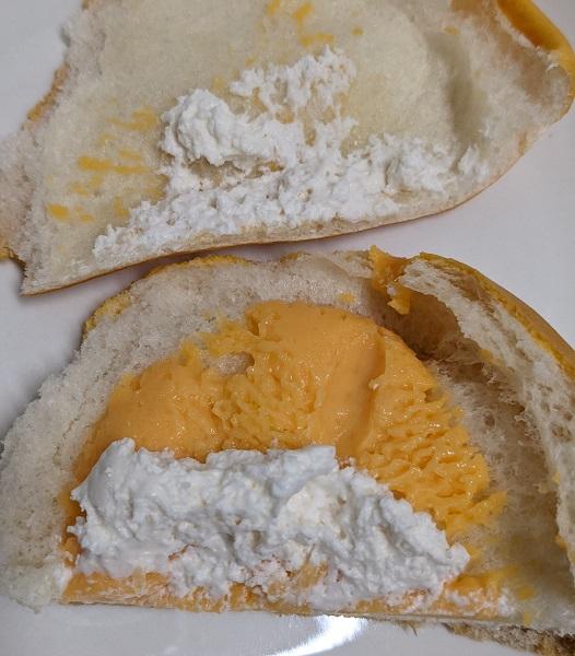 北海道メロンのクリームパン5